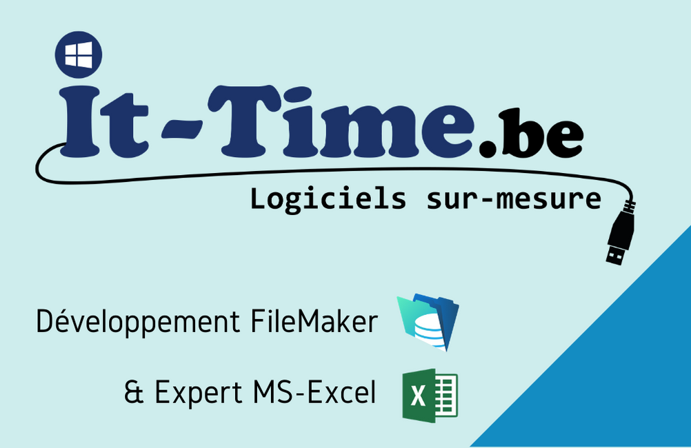 it-time.be, Logo It-Time.be, IT-TIME, it-time, Développeur Filemaker
